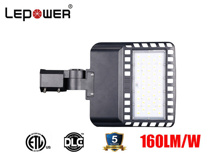 High Lumen LED Car Parking Lot 120W 160lm/w IP66 IK10 4000K 70Ra UL DLC Certificatedw with Lora Control System